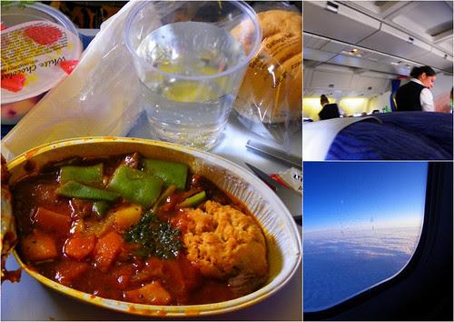 Tikka Masala Or Braised Beef Crumble? Business Class Fare On British Airways