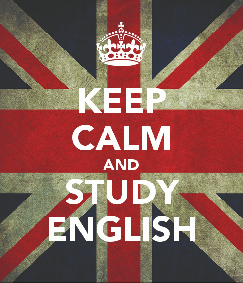 Resultado de imagem para keep calm and study english tumblr