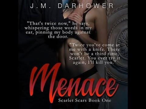 Menace (Scarlet Scars #1) by J.M. Darhower