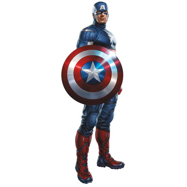 ausmalbilder avengers captain america  ausmalbilder