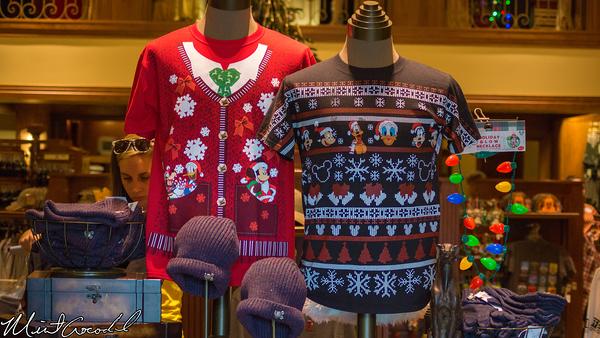 Disneyland Resort, Disney California Adventure, Buena Vista Street, Christmas Time, Christmas, 2014, Ugly, Sweater, Shirt