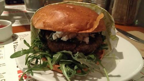 Short Order Lamb Burger