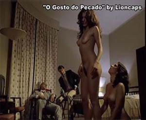 Varias no filme brasileiro gosto pelo pecado