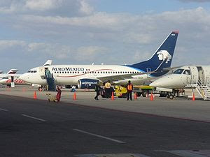 AEROMEXICO AT LA PAZ INTERNATIONAL AIRPORT