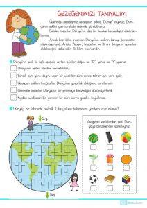 3 Sınıf Fen Bilimleri Dünyanın şekli Sınıf öğretmenleri Için