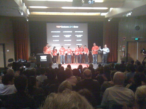 The organising committee of TEDxCanberra