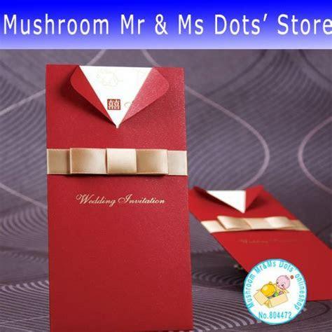 (100 pieces/lot) hot sale creative wedding invitation card