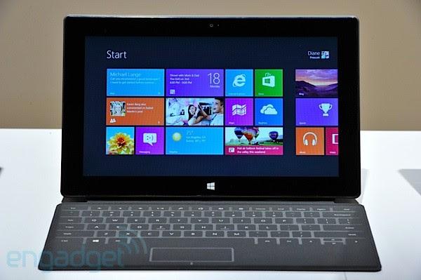 Surface promete chegar ao mercado com tudo (Foto: Reprodução/Engadget)