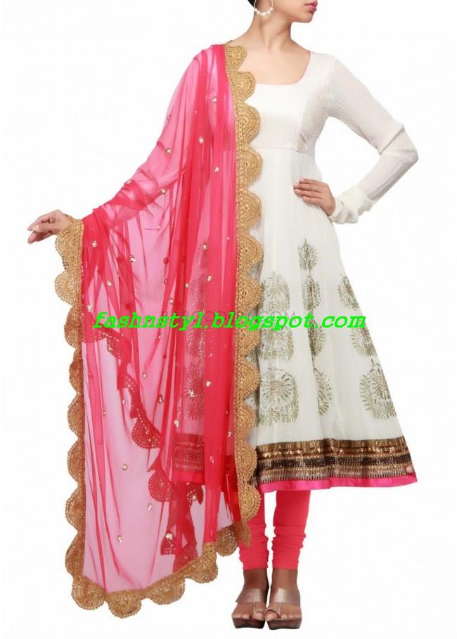 Anarkali-Fancy-Embroidered-Churidar-Frock-New-Fashion-For-Girls-by-Designer-Kalki-