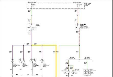 1994 Other Nissan Models PARK LIGHTS: Electrical Problem ...