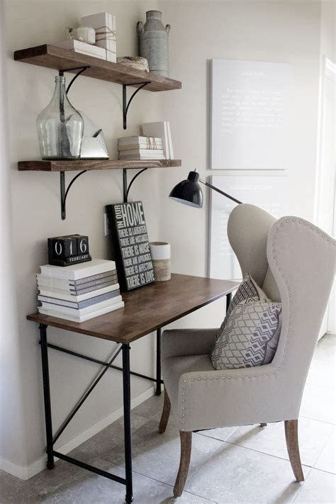 home decorating ideas small home office desk  rustic