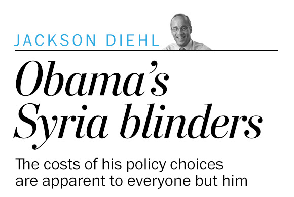 The costs of Obama's Syria policy are apparent to everyone but him