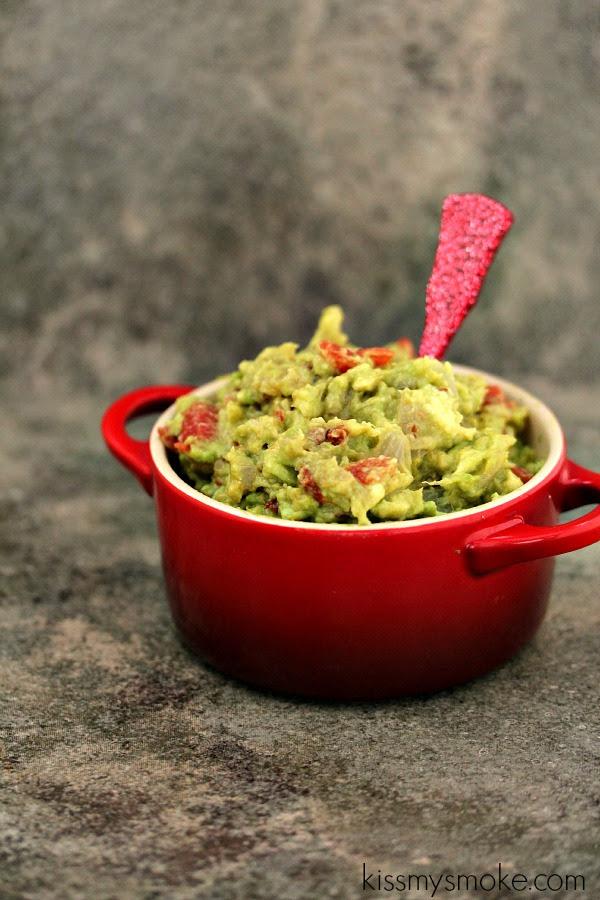 Grilled Guacamole | Kiss My Smoke