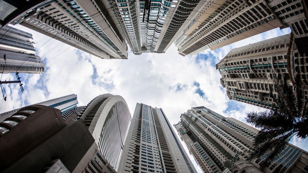 Rascacielos en la Ciudad de Panamá.