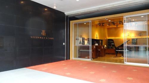 深圳音楽庁にスタンウェイのピアノ屋