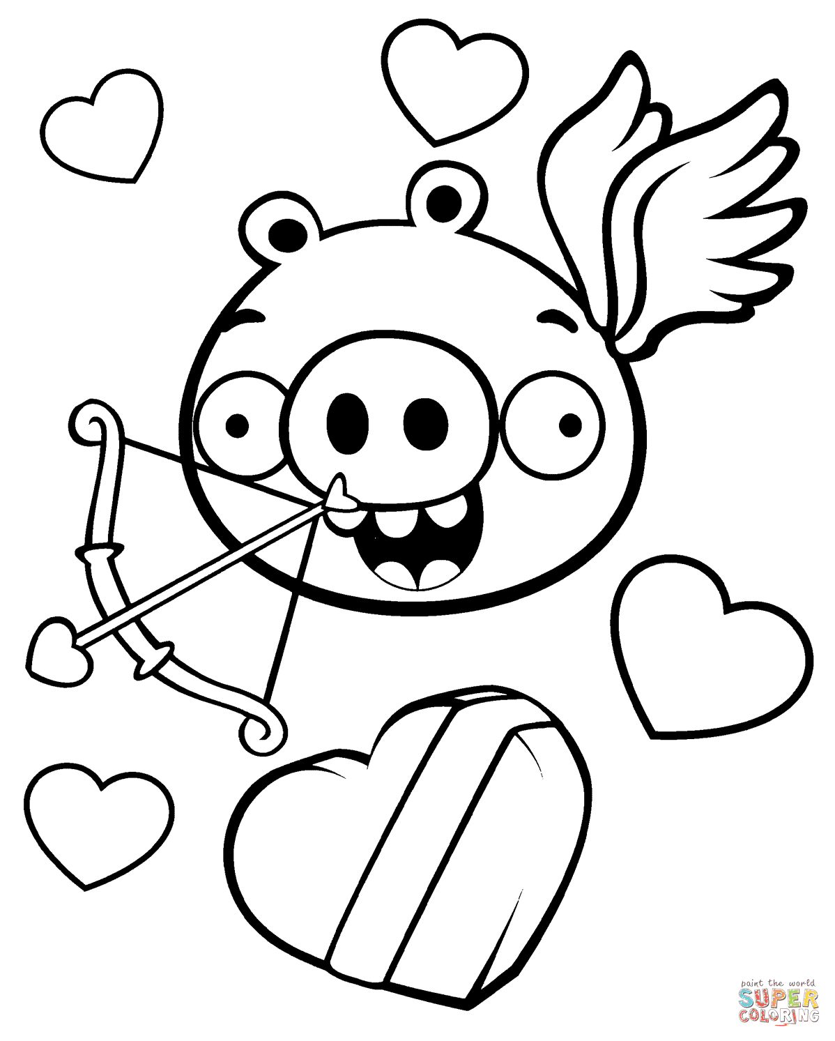 740 Top Valentine Cartoon Coloring Pages Images & Pictures In HD