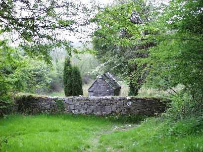 Descent to St Brigid's Well
