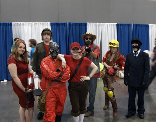 Costumed People