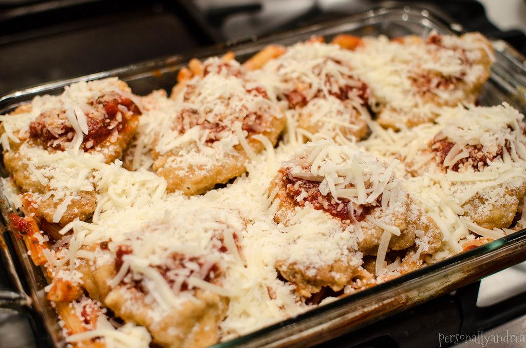 Cheater Chicken Parmesan | personallyandrea.com