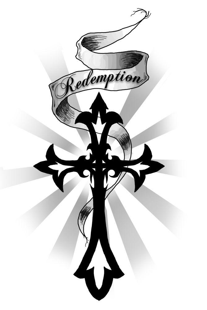 Cross And Ribbon Charming Tattoo Designs Tattoo Stuff Pinterest