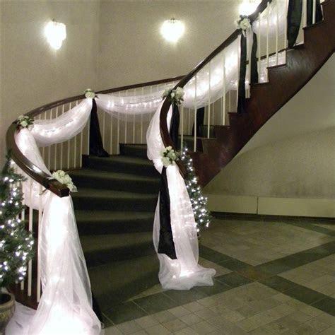 Wedding Staircase Decoration on Pinterest   Wedding