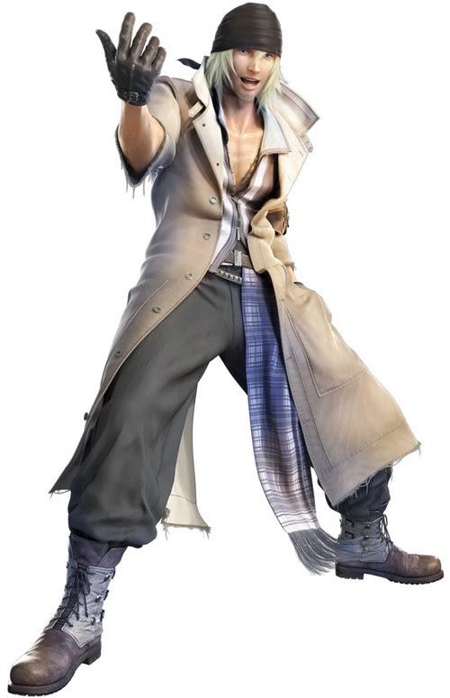 snow villiers ffxiii Top 20 personagens masculinos mais bonitos dos games