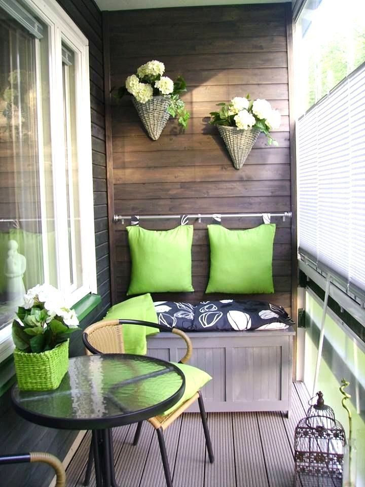 easy balcony decorating ideas