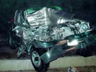 Φωτογραφία για 27χρονος έχασε τη ζωή του σε τροχαίο δυστύχημα