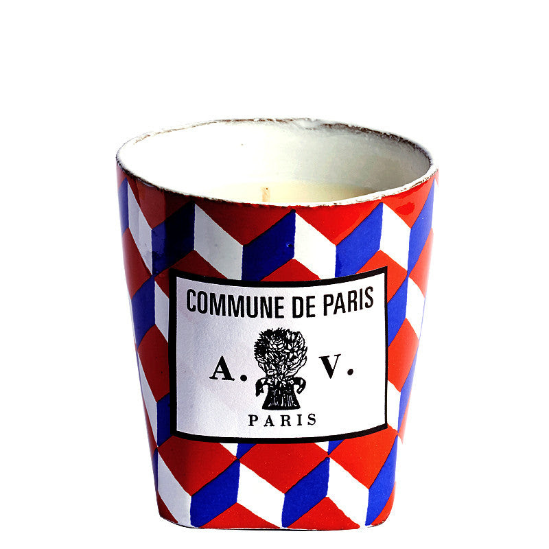 Commune de Paris - Tricolore Candle by Astier de Villatte