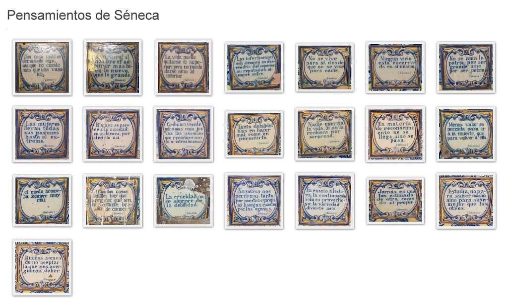 Collage de pensamientos senequianos