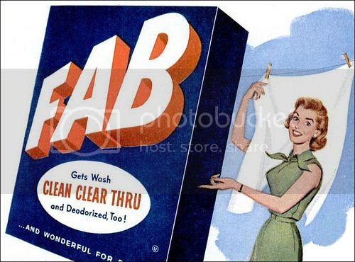 Old FAB detergent ad