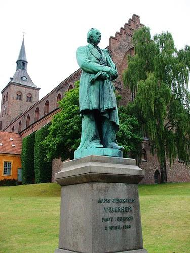 歐登塞(Odense)安徒生雕像