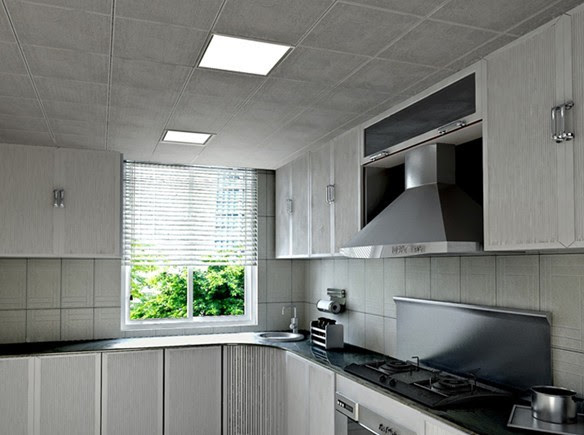12w Flat ceiling led panel Light/Recessed LED Panel/LED Ceiling Panel Kitchen Lighting
