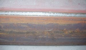Carbon Steel MIG Weld done with C25 Gas.
