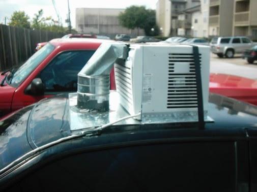 Uso intenso de ar-condicionado