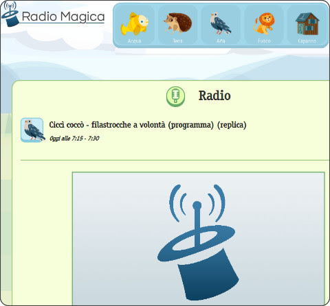 http://www.radiomagica.org/radio/#page-1