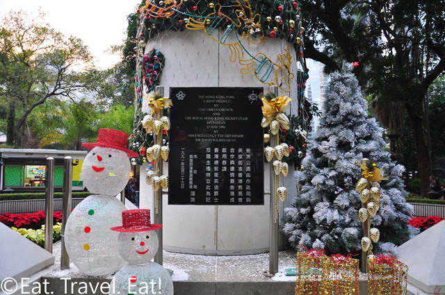 Hong Kong Park Monument