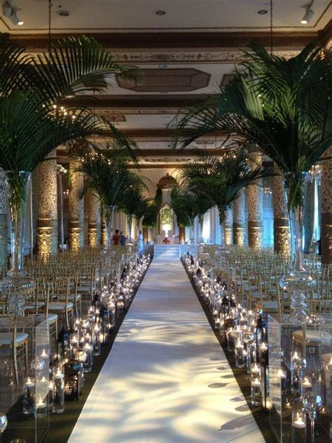 Our Indian Wedding Ceremony Aisle; @ The Drake Hotel