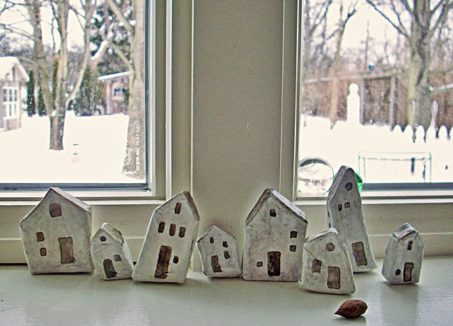 tiny houses painted