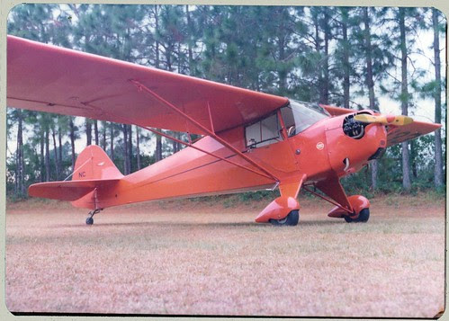 Light Plane in coral