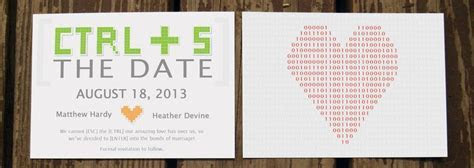 Geeky Wedding Invitations We Love   Arabia Weddings