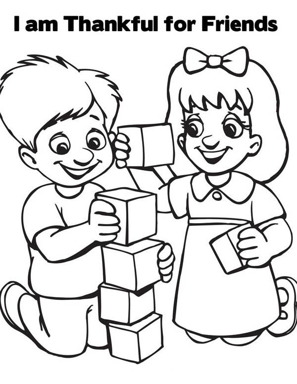 - Friendship Coloring Pages Best Coloring Pages For Kids - Coloring Pages