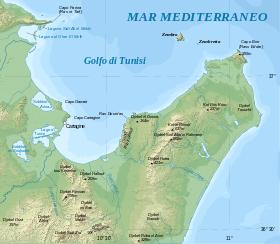 Cartago location map it.svg