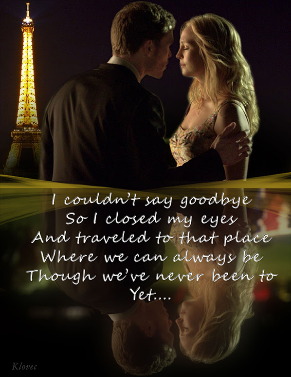 Klaus Caroline Images I Really Dont Want You To Say Goodbye Hd
