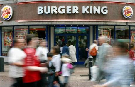 Un restaurant de la cadena de menjar ràpid Burger King.