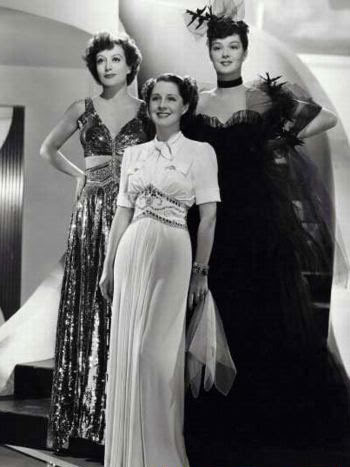 The Women: Norma, Joan, and Rosalind in their stunning glory