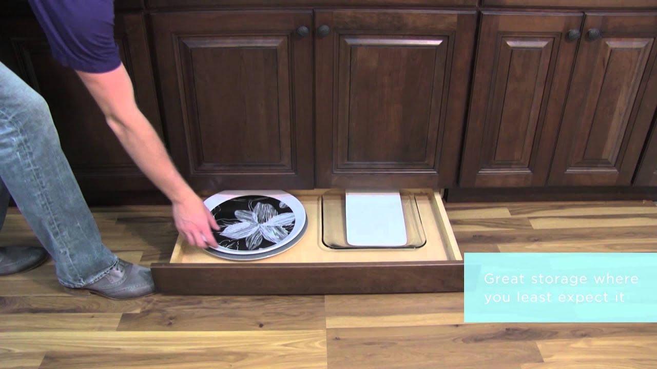 Medallion Cabinetry: Toe-kick Drawer, Kitchen Storage Part ...