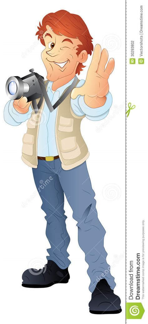 Young Photographer Vector Stock Photography   Image: 30293802
