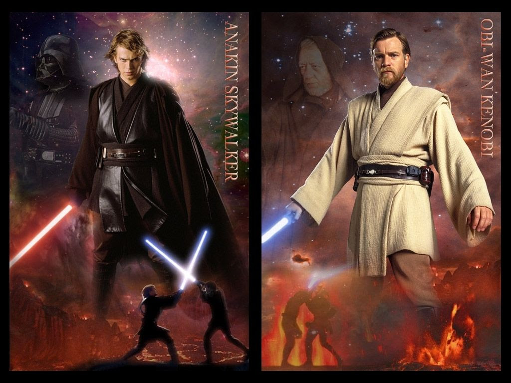 Anakin Skywalker And Obi Wan Kenobi Wallpapers Posted By