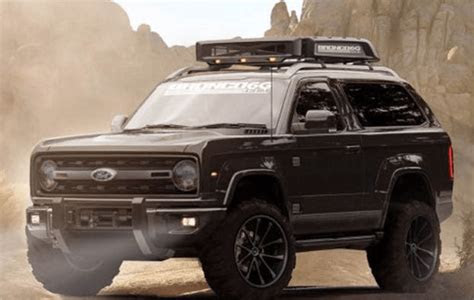 ford  bronco price specs concept rendering  ford